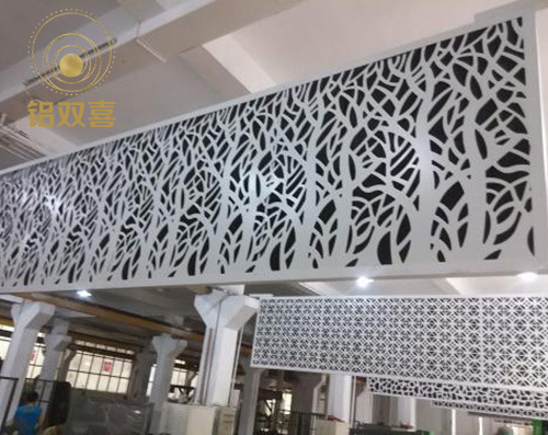室内雕花铝单板
